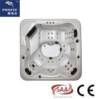 Buy cheap ponfit 5 - 6 Persons (1 Lounges) hot tub spa with colorful acrylic product