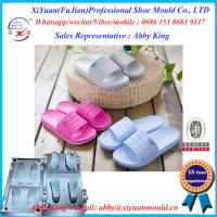 Buy cheap Eva Slipper sansal sole Mould Shoes Mould, two colors EVA shoes injection mold, shoe mould from wholesalers