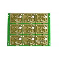 Buy cheap 1OZ Radar Sensor 5.8G FR4 PCB Voice Control Light High Sensitivity Circuit Board 0.8mm from wholesalers