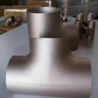 Buy cheap ERW Tee / Copper Nickel Butt Weld Fittings For Automotive JIS B 2311/2220 from wholesalers