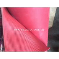 Buy cheap Durable non-slip rubber sheet & mat,ribbed texture on top from wholesalers