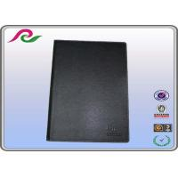 Buy cheap office A6 PU colored loose leaf paper Notebook , AI / PDF / CDR writing book from wholesalers