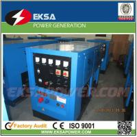 Buy cheap Outdoor use two-wheel soundproof mobile 25kva diesel welder generating set with 200 welding machine from wholesalers