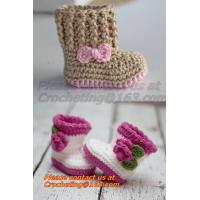 Buy cheap Crochet Baby, Sandals, Handmade, Knit, Summer Boys Booties, Baby Shoes,  Infant, Slippers from wholesalers