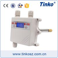 Buy cheap Tinko duct mounting temperature humidity sensor transmitter with RS485 communication from wholesalers