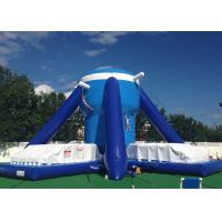 Buy cheap Free Klimb Inflatable Interactive Games , Large Blue 28ft Inflatable Climbing Wall from wholesalers
