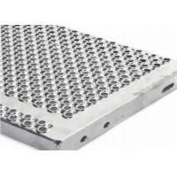 Buy cheap Perforated Galvanized Steel Stair Treads 1.5 - 5mm Thickness Anti Slip Surface from wholesalers