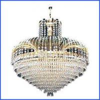 Buy cheap Modern style K9 crystal pendant light RM1126-5 from wholesalers