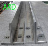Buy cheap T45/ A,  T50/ A elevator guide rail/ cold drawn guide rail/ escalator/ lift from wholesalers