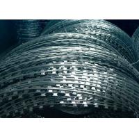 Buy cheap CBT-65 Type Concertina Razor Barbed Wire , Hot Dipped Galvanized Razor Wire from wholesalers