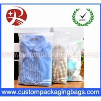 Buy cheap CPE Stronger Plastic Ziplock Bags For Packing Clothes , Clothes Packing Bags Clear from wholesalers