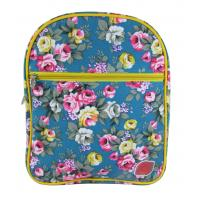 Buy cheap Skyblue Girls Fashion Bags Flower Print Womens Backpacks School Bookbag product