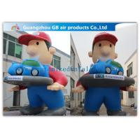 Buy cheap Giant Inflatable Cartoon Characters Air Big Boy 7m for Advertising Decoration product