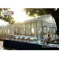 Buy cheap White Top Glass Walling Luxury Wedding Tents for Outdoor Wedding Parties from wholesalers