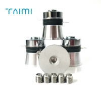 Buy cheap 33K 60W Oscillator Piezoelectric Ultrasonic Transducer For Cleaning Machine from wholesalers