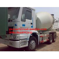 Buy cheap Sinotruck 6 x 4 Euro II 336 HP Engine Cement Mixer 12m3 Truck Concrete Mixing Equipment from wholesalers