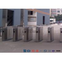 Buy cheap Cold Rolled Steel Luxury Flap Barrier Gate , Pedestrian Access Control Turnstile from wholesalers