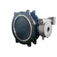 Buy cheap Low Torque Double Flanged Butterfly Valve , High Temp Butterfly Valve Field Replaceable Seats from wholesalers