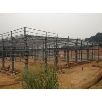 Buy cheap Building Steel Frame  With High Quality For Industrial Workshops And Storages from wholesalers