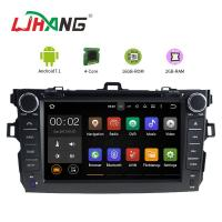 Buy cheap Left Hand Driving Multimedia Toyota Car DVD Player With MP3 MP4 DVR AUX from wholesalers