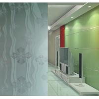 Buy cheap 4mm - 19mm Frosted Tempered Glass, Maximum size 2400*4500mm Craft Sand Blasted Glass from wholesalers