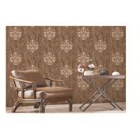 PVC vinyl wallpaper new design classic damask metallic coloe shining washable