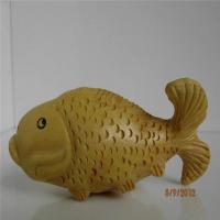 Buy cheap Boxwood carved carp fish from wholesalers