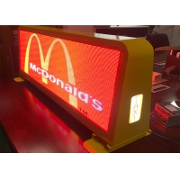 Buy cheap Outdoor Taxi Roof IP67 6500CD P5 Mobile LED Billboard from wholesalers