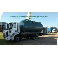 Buy cheap Hydrochloric Acid transport Chemical Tanker Truck 15000L ~16000L Capacity from wholesalers