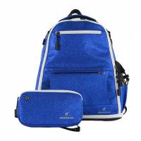 Buy cheap Travel Used Girls Sequin Backpack , Comfortable Blue Cheer Backpack from wholesalers