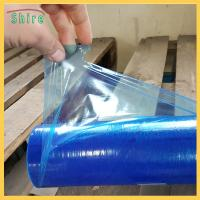 Buy cheap Removable Stab Proof Duct Protective Plastic Film , HVAC Protection Film product