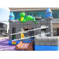 Buy cheap 0.55mm PVC Kids Blow Up Water Slides , Toddler Inflatable Bouncer from wholesalers