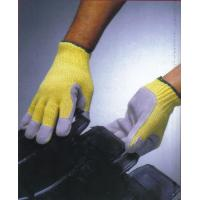 Buy cheap Cutting proof kevlar glove with pvc dots in the palm ZMA0101 from wholesalers