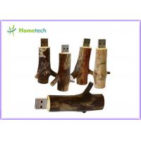 Buy cheap Novetly 2.0 tree branch Wooden USB Flash Drive promotional 4GB 8GB 16GB 32GB product