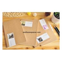 Buy cheap Custom Recycled Blank Kraft Notebook Hardcover Notebook from wholesalers