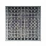 Buy cheap Perforated Clean Room Raised Floor Ventilation Rate 55% Die Cast Aluminum from wholesalers