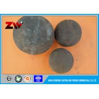 Buy cheap High chrome hot rolling steel balls alloy casting grinding ball for mining from wholesalers