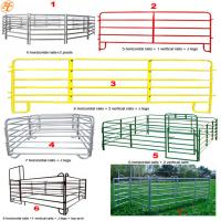 Buy cheap HaoTian factory cheap price 1.8m x 2.1m goat sheep portable farm fence panels from wholesalers