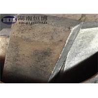 Buy cheap Grain refined Magnesium Manganese alloy ingot , MgMn master alloy from wholesalers
