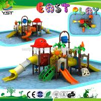 Buy cheap 2.5 Mm Thickness Commercial Water Slides For Water Park Powder Coated from wholesalers