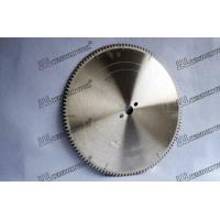 Buy cheap Circular saw blade for Aluminum 450-30-4.0-120T aluminium circular saw blade from wholesalers