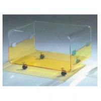 "Buy cheap Clear Modern Acrylic Table Furniture With 4 Caster 30"" * 18"" * 19"" product"