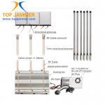 Buy cheap 6 Antennas 90W High Power Desktop Jammer Panel ANT Blocker 3G 4G LTE UHF VHF Radio 315 433 from wholesalers