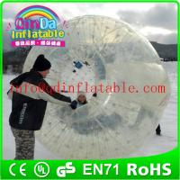 Buy cheap Wholesale giant human inflatable hamster ball inflatable body zorb ball from wholesalers