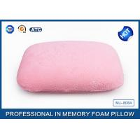 Buy cheap Portable High Density Memory Foam Sleep Pillow For Car / Air / Home Decorative from wholesalers