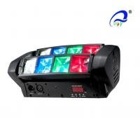 Buy cheap LED Graphic Display Mini Beam Spider Moving Head Light Adjustable Speed Strobe from wholesalers