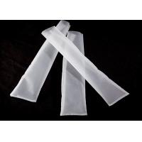 Buy cheap Polyamide Rosin Press Bags White Color Plain Weave Mesh Wear Resistant from wholesalers