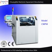 Buy cheap High Performance PCB Sticker Labelling Machine 60l / Min Label Making Machine from wholesalers
