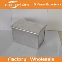 Buy cheap Factory direct wholesale bread toast loaf pan-aluminum loaf pan for bakeware- toast bread baking pan with lid from wholesalers