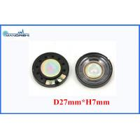 Buy cheap Plastic Toy Dooerbell Car Audio Speakers FO 600HZ Diamater 27mm from wholesalers